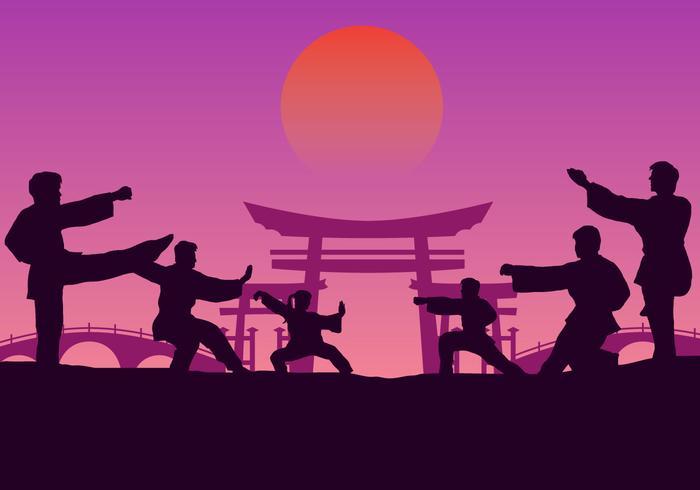 Group Wushu Training