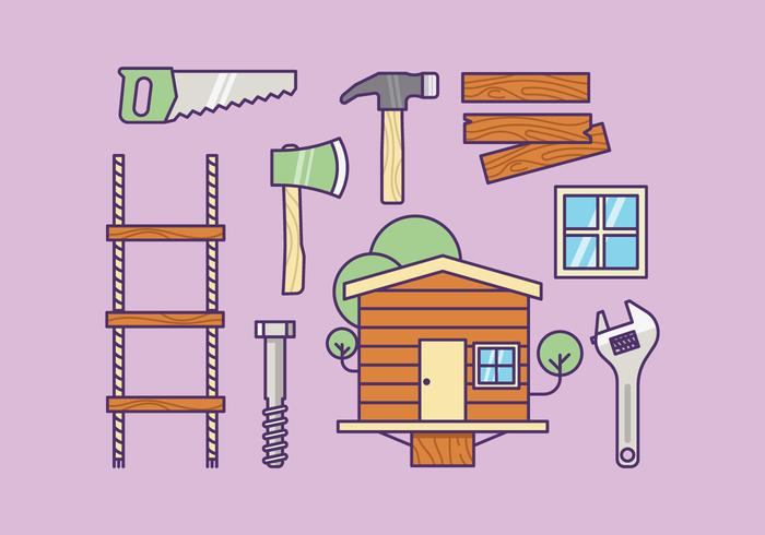 Free Treehouse Supply Kit Vector