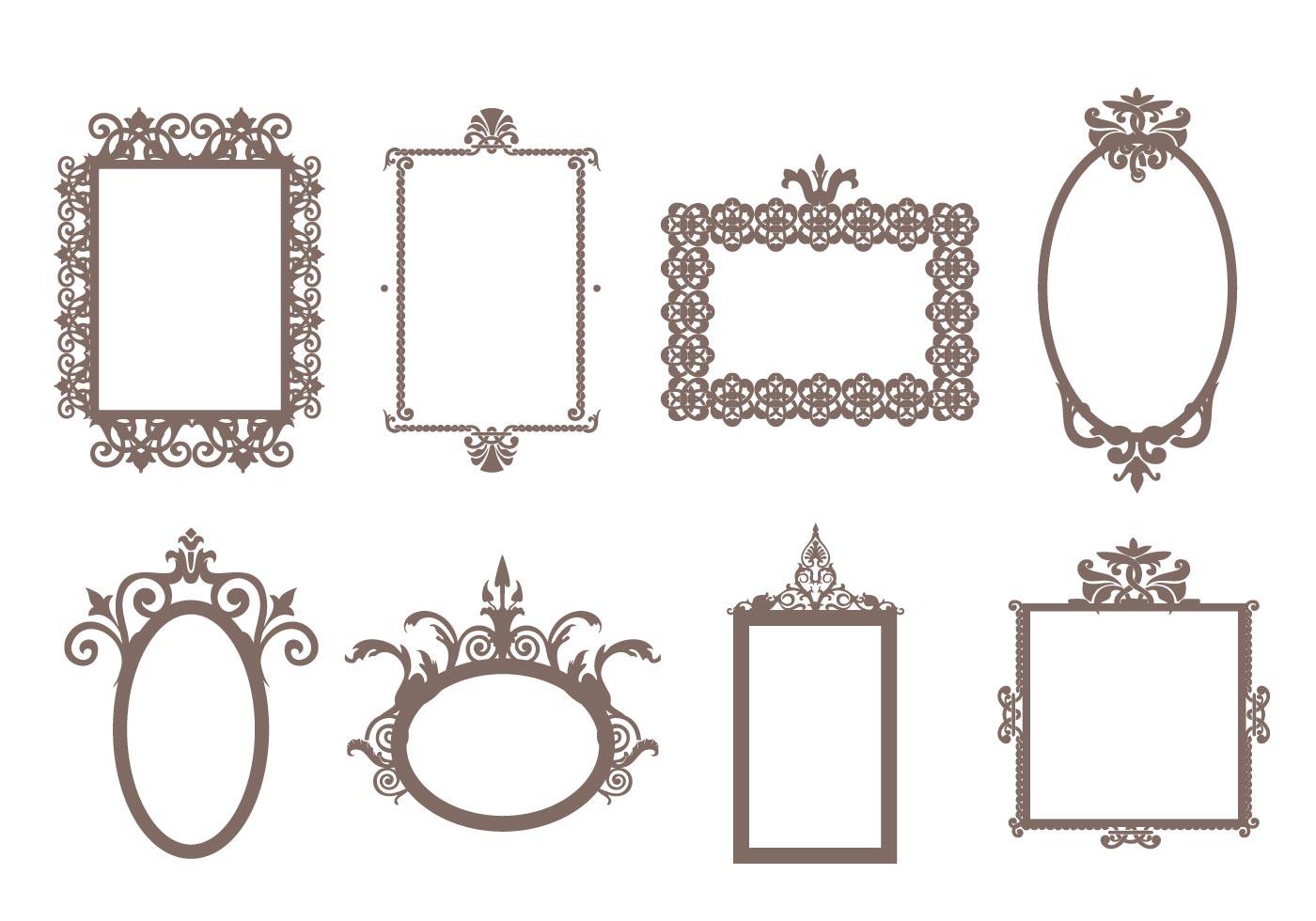 Free Decorative Frames Vector  Download Free Vector Art