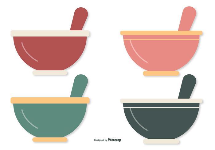 Flat Style Mixing Bowls