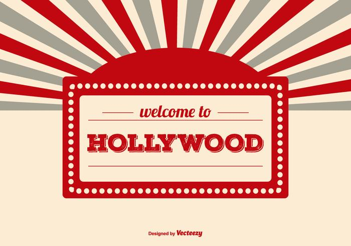 Welcome to Hollywood Illustration