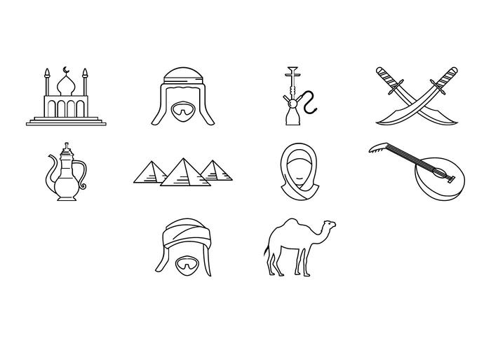 Free Arabian Icon Vector