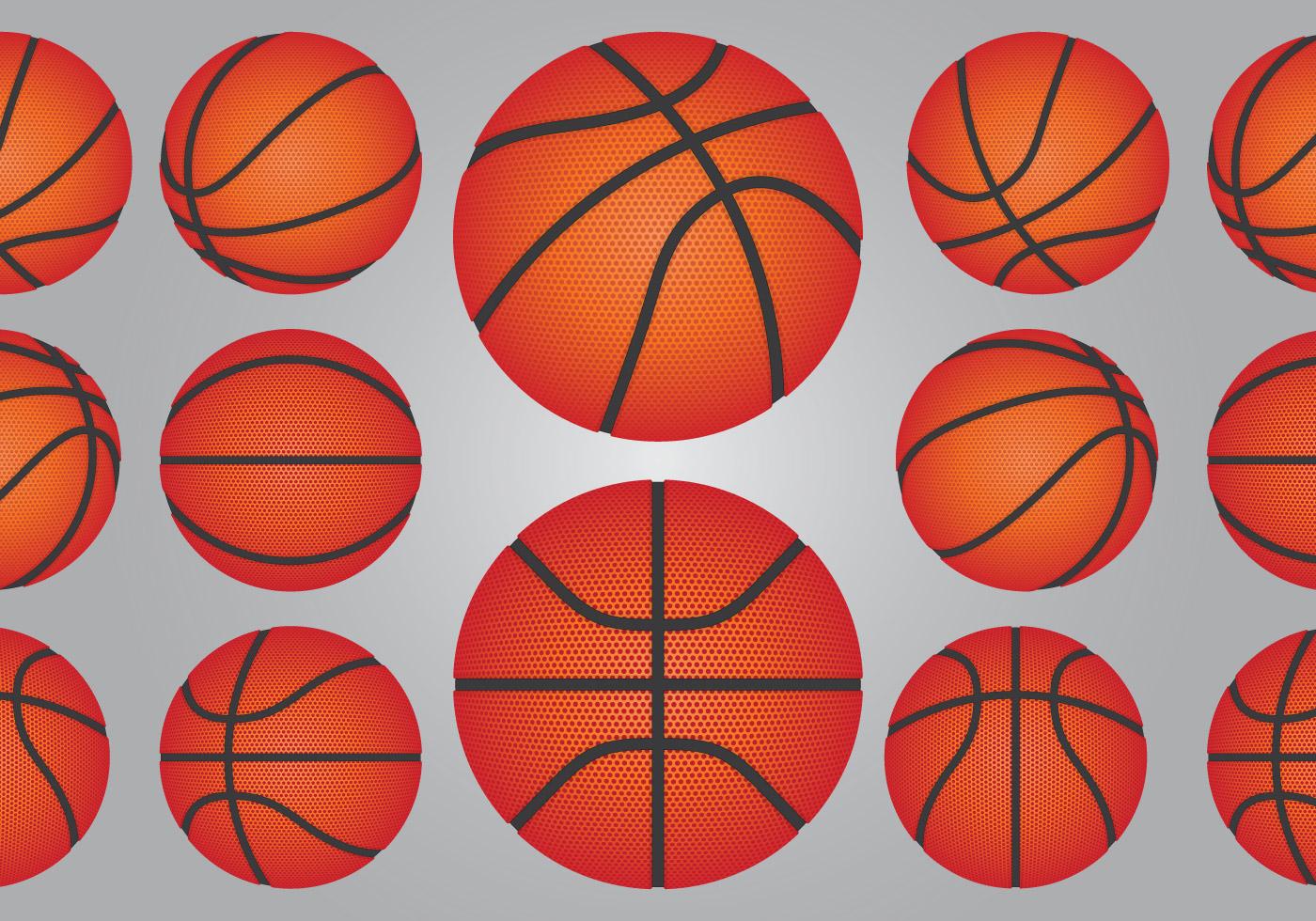 Basketball Ball Set Download Free Vector Art Stock