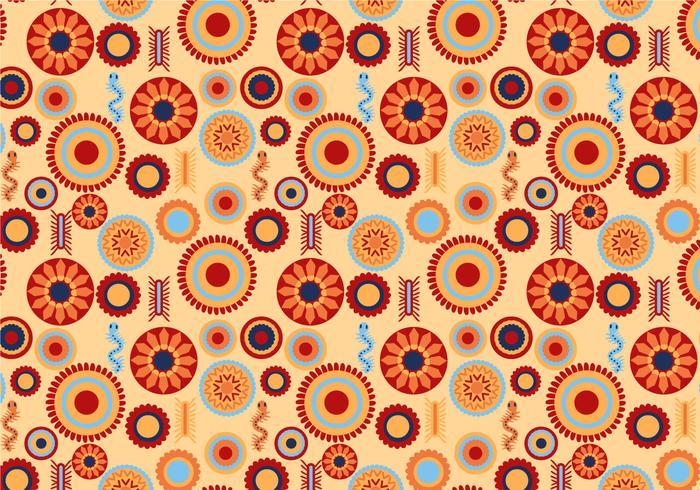 Free Huichol Pattern Vectors