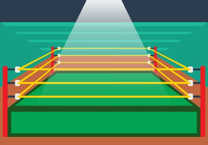 Illustration Of Wrestling Ring - Download Free Vector Art ...  Illustration Of...