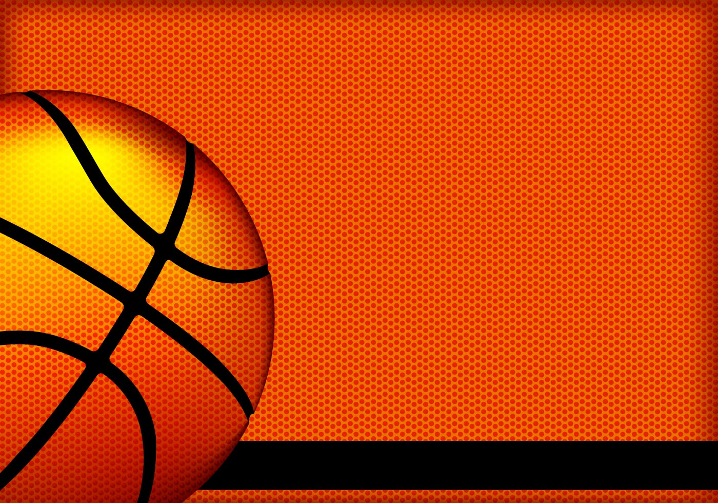 Basketball texture vector background download free vector art stock graphics images for Free basketball vector