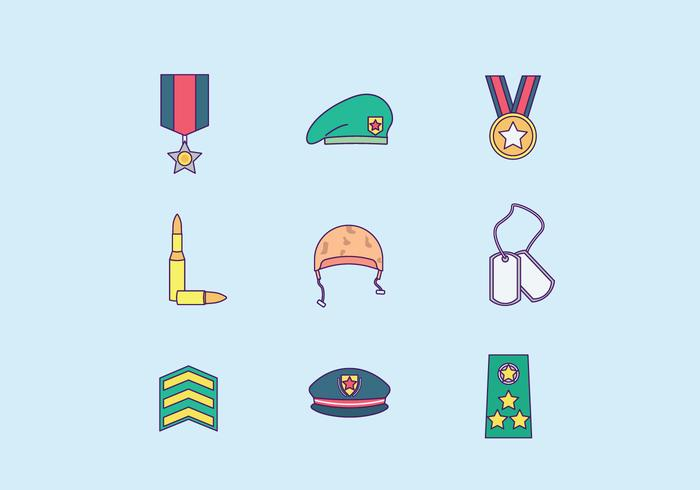 Free Vector Military Brigadier Avatars - Download Free Vector Art