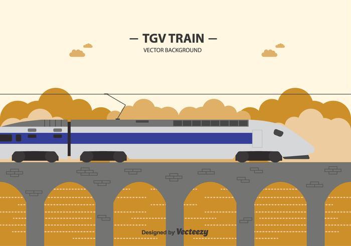 Free Tgv Train Background
