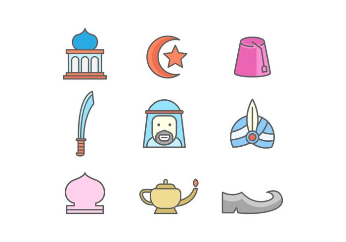Free Middle East Vector Icons