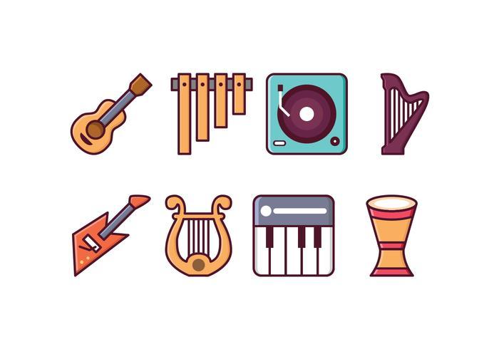 Gratis Instrument Pictogrammen
