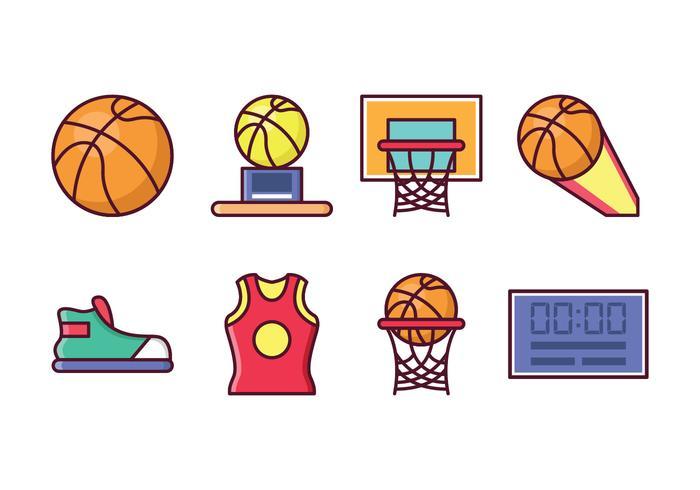Free Basketball Icon Set