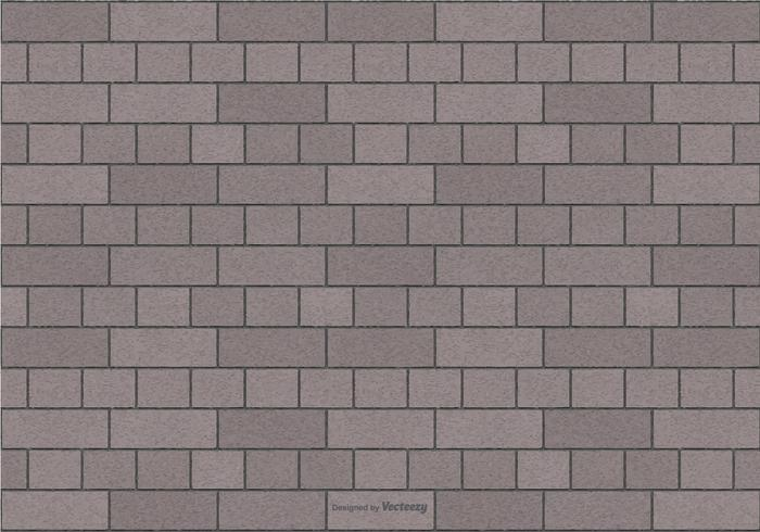 Grey Brick Pattern Background