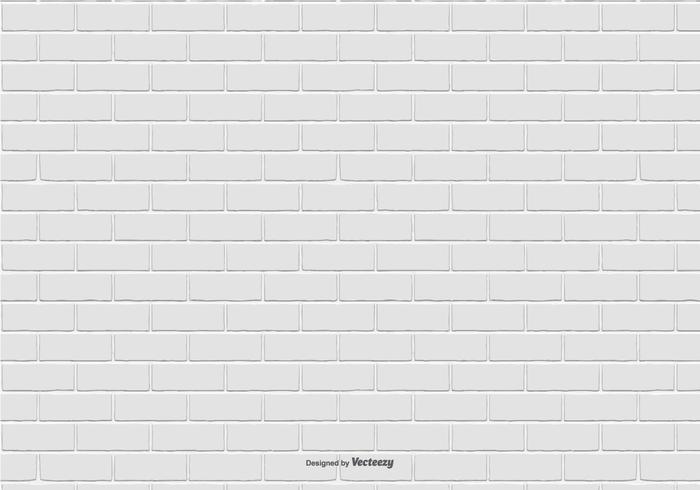 Fondo del modello del mattone bianco vettore