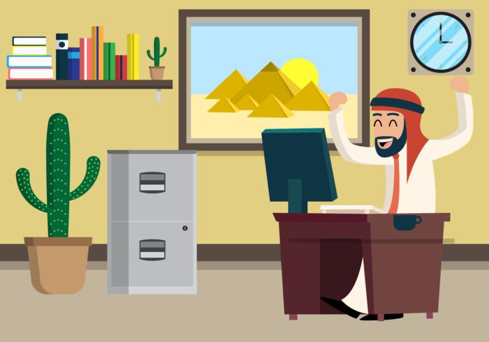 Sultan illustration vectorielle gratuite