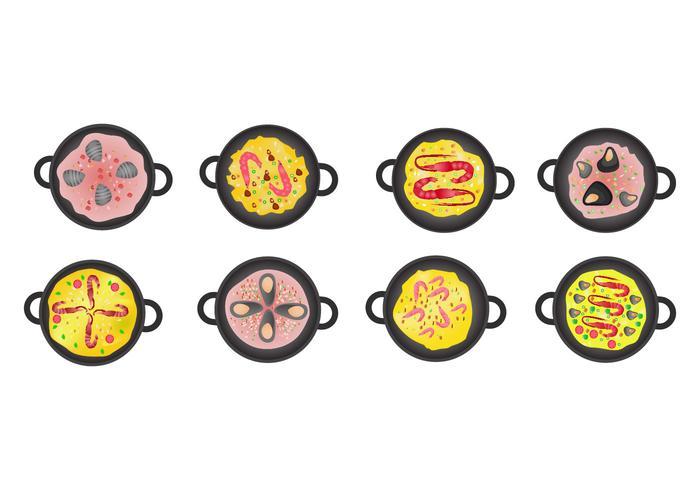 Vector Icono de Paella gratis
