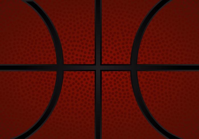 Free Basketball Texture Vector Illustration