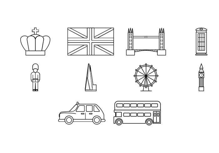 Free London Icon Vector