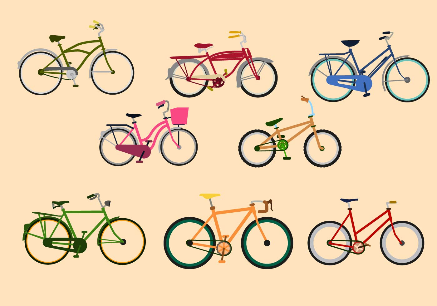 Engrenagem Bicicleta Free Vector Art