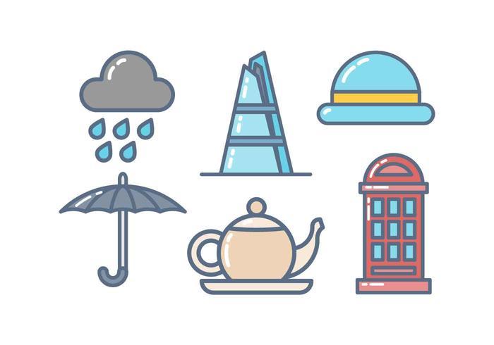 Gratis Icon van Londen Vector