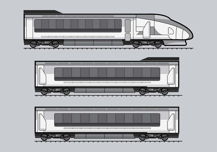 TGV Train Vector