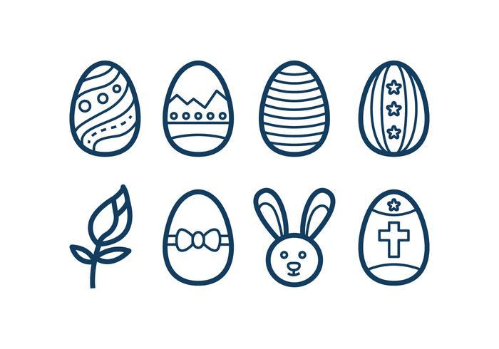 Icônes libres de Pâques