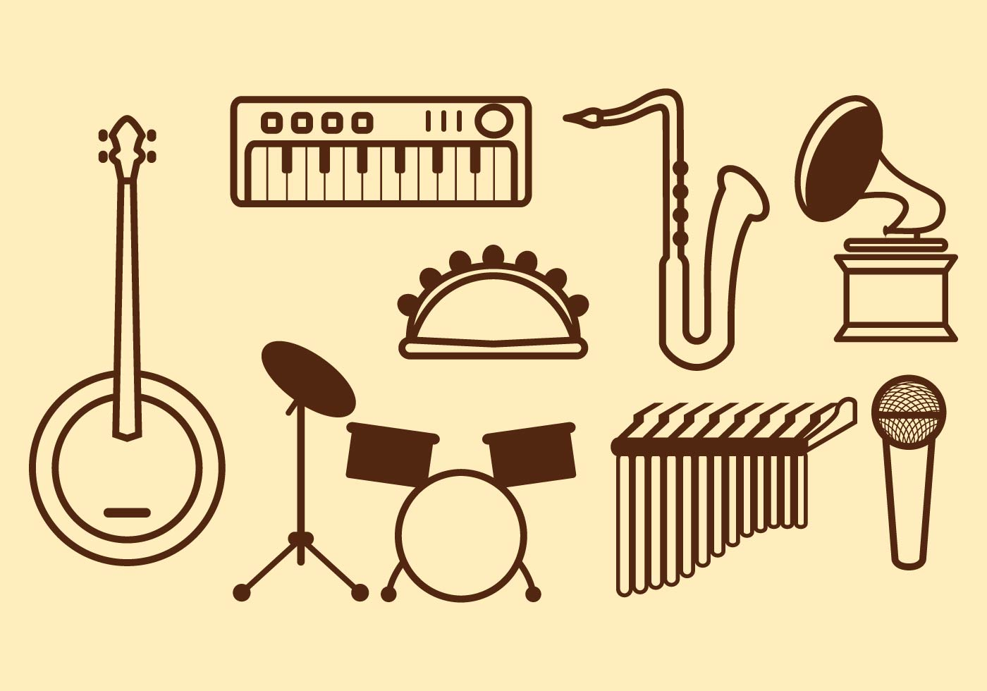 free music vector icon download free vector art  stock headphone vector image free headphone vector free ai
