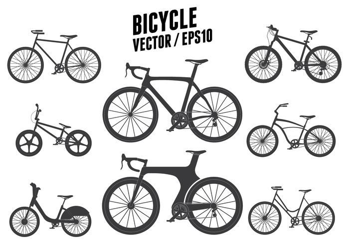 Vettore di biciclette