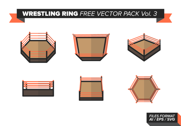 Wrestling Ring Free Vector Pack Vol. 3