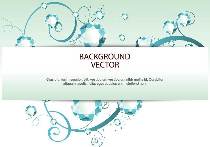 Rhinestone Diamond vector background