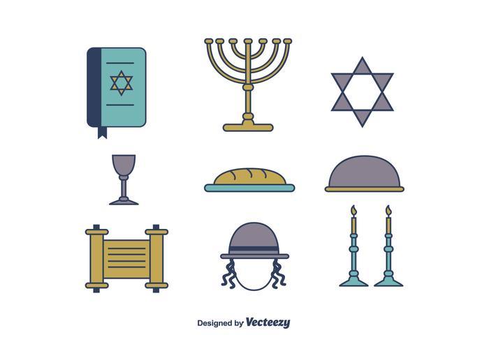 Icônes gratuites de Shabbat