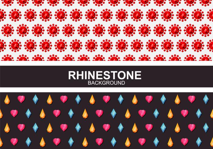 Rhinestone Background Vector