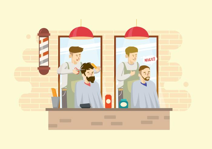 Free Barber Illustration