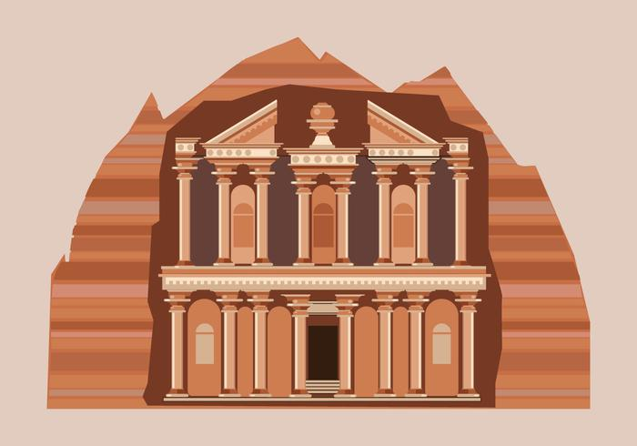 Petra Vector Illustration