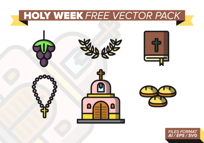 Heilige Week Gratis Vector Pack