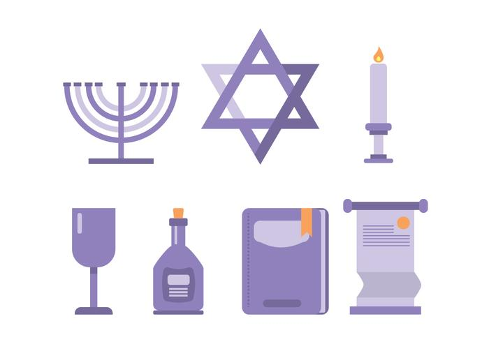 Shabbat Ceremoniële Pictogram