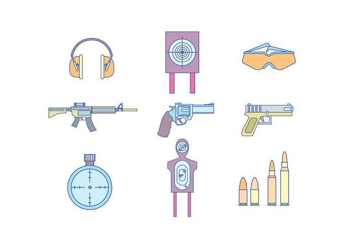 Pistole e attrezzature da tiro