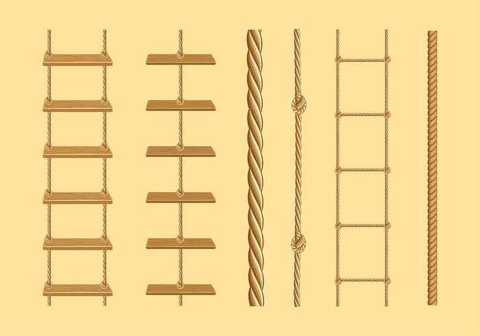Rope Ladder Free Vector