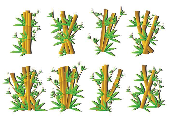 Iconos de bambú