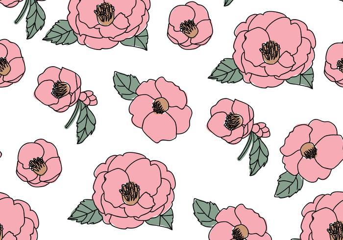 Beautiful Camellias Pattern