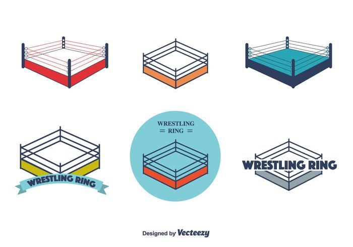 Wrestling Ring Vector