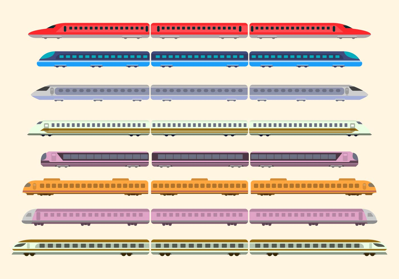 Train Free Vector Art - (6434 Free Downloads)