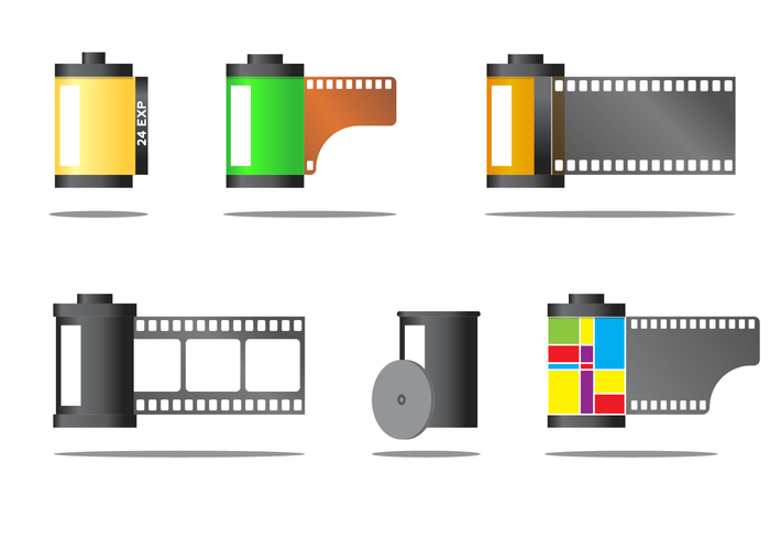 Free Film Canister Vector