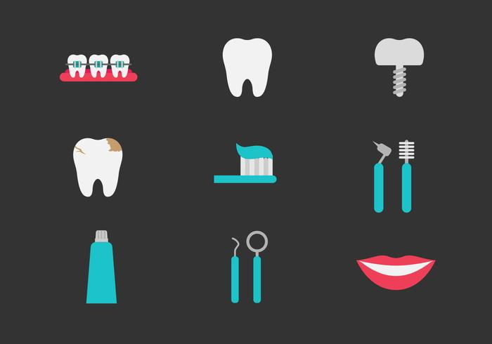 Free Teeth and Dentistry Icons