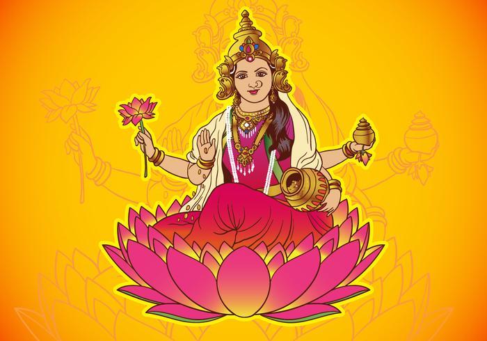 Déesse Hindou Lakshmi