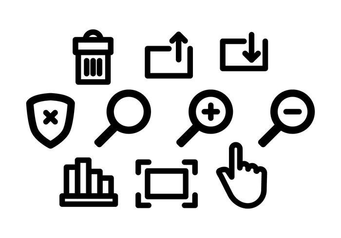 Free Website Icons Vector