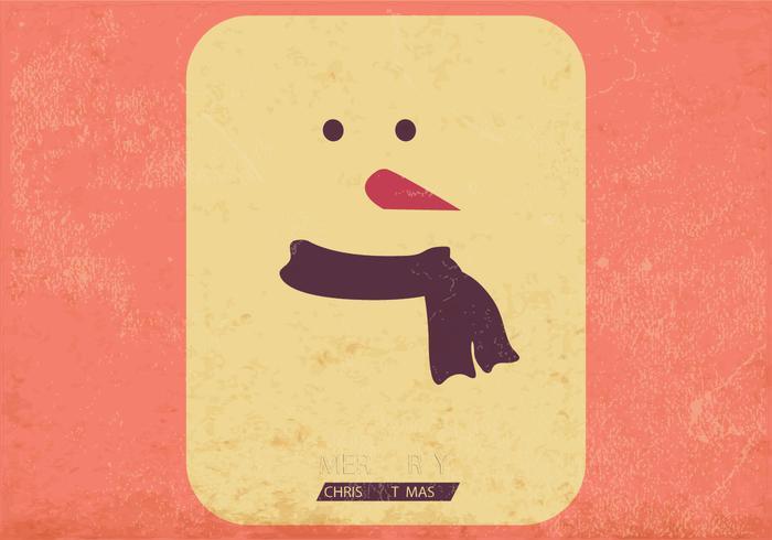 Frosty vector tarjeta de juego