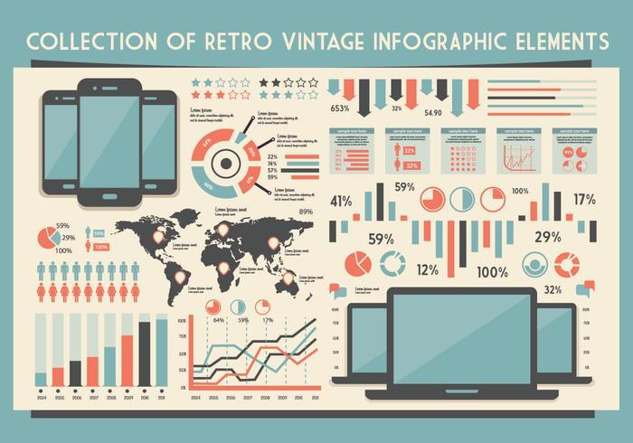 Gadget Infografía Vector