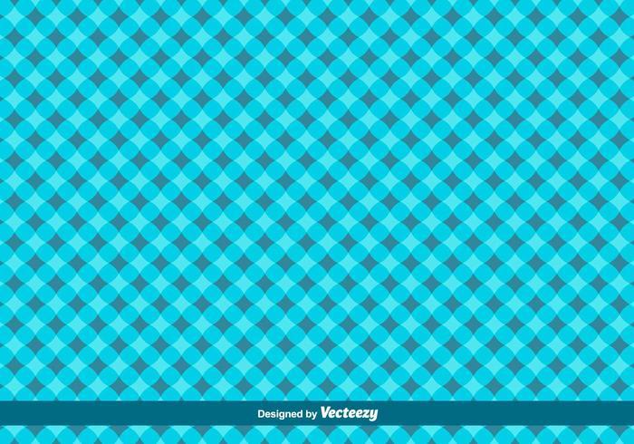 Blue Geometrical Vector Pattern