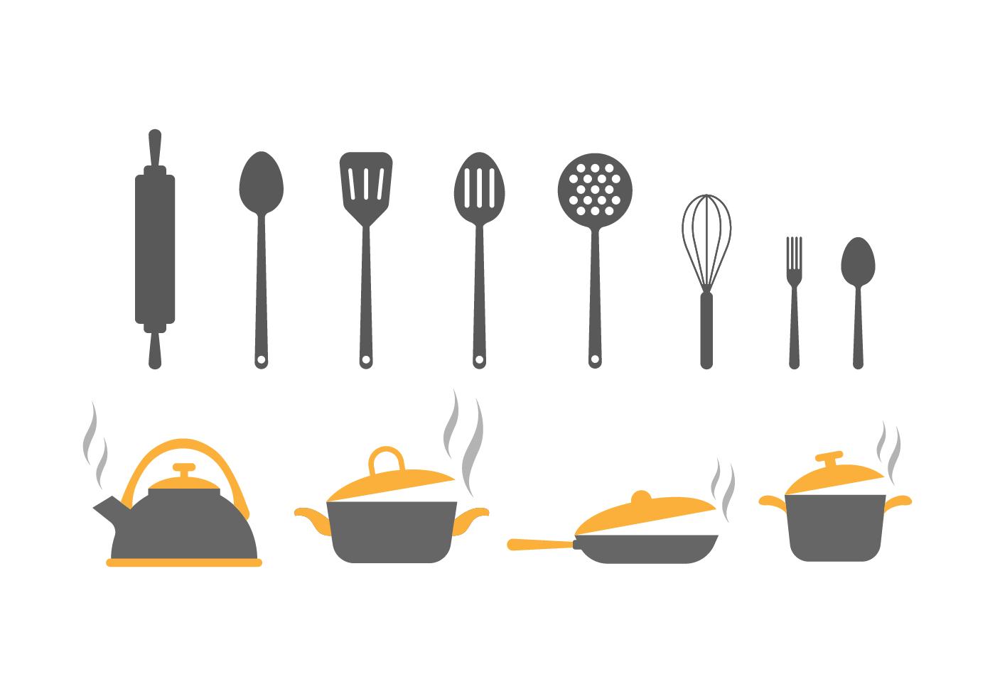 Kitchen Utensils Free Vector Art - (1128 Free Downloads)