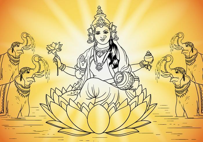 Gudinnan Lakshmi